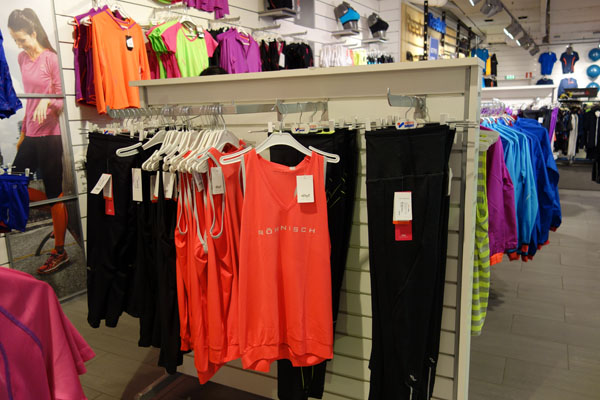 BTEXCO products at Intersport Store