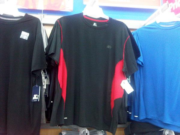 flatlock sportswear made by BTEXCO at Walmart Store in Miami